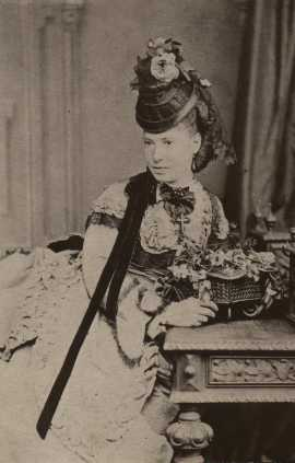 Martha dressed up